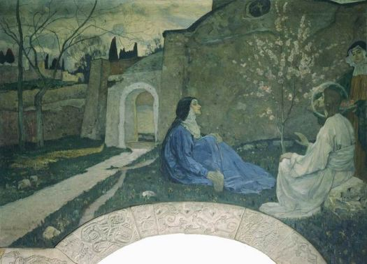 christ-with-martha-and-mary-1911