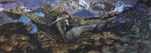 Fallen Demon Mikhail Vrubel - 1902
