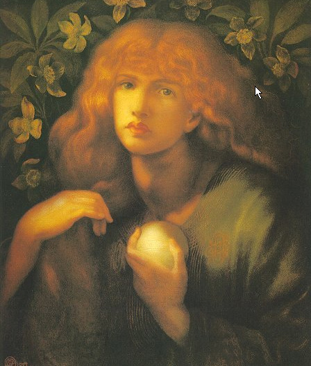 Dante Gabriel Rosetti 1877 mary magdalene