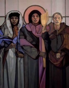 MaryMagdaleneSusannaandJoanna by Mary McKenzie Nativity Project