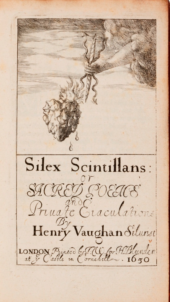 Cover of Silex Scintillans, Henry Vaughan, Public domain, via Wikimedia Commons